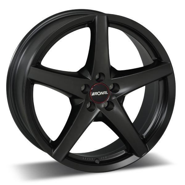 Ronal R41 Black ET45 7X16 5/108